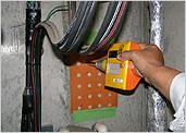 コンクリート簡易圧縮強度測定試験